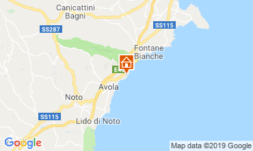 Map Avola Villa 113727