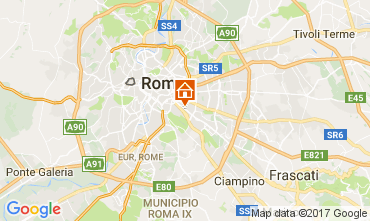 Map Rome Apartment 111285