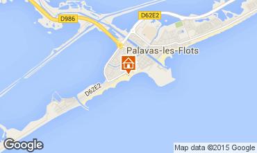 Map Palavas-les-Flots Flat 26554