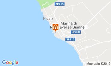 Map Marina di Mancaversa Apartment 88735