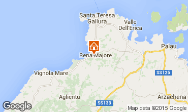 Map Santa Teresa di Gallura Apartment 99077