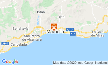 Map Marbella Apartment 75680