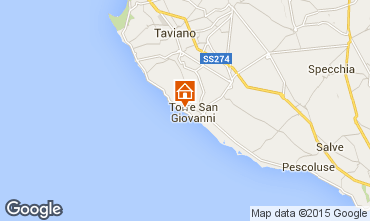 Map Ugento - Torre San Giovanni Apartment 87709