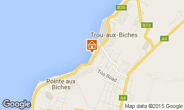 Map Trou-aux-biches Bungalow 28556