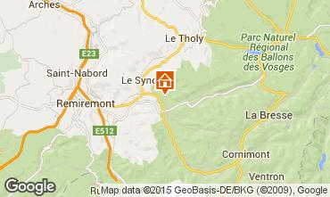 Map Gérardmer Chalet 4668