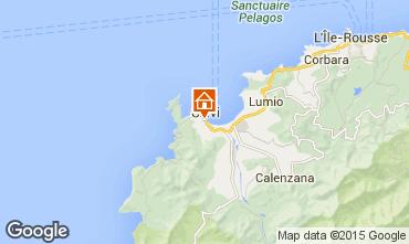 Map Calvi House 91904