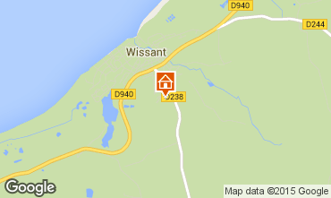 Map Wissant House 87766