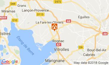 Map Aix en Provence Villa 115046