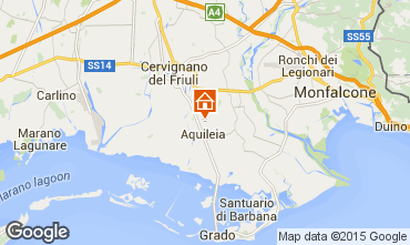 Map Aquileia Apartment 26155