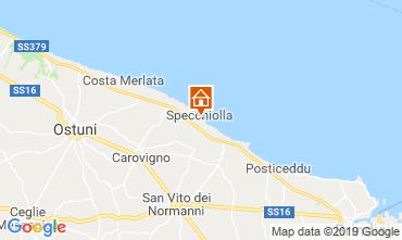 Map Ostuni Villa 118206