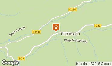 Map Gérardmer Chalet 81072