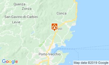 Map Porto Vecchio Villa 118150