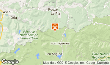 Map Puyvalador Chalet 4885