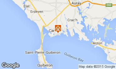Map Carnac Villa 49752
