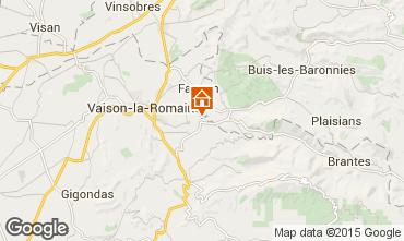 Map Vaison la Romaine Villa 82681