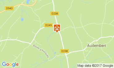 Map Wissant Apartment 110945