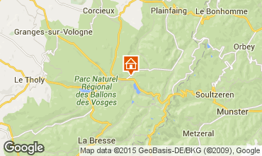 Map Gérardmer Chalet 4601