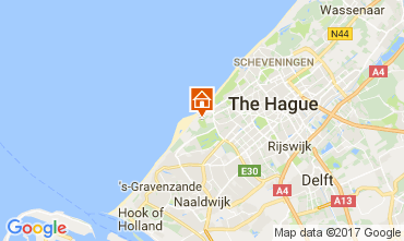 Map The Hague Self-catering property 68087