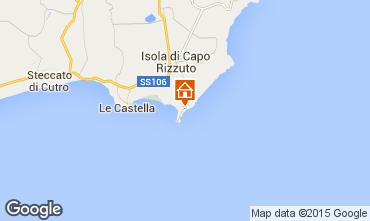 Map Isola di Capo Rizzuto Apartment 68139