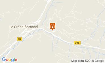 Map Le Grand Bornand Apartment 112885