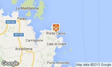 Map Porto Cervo Apartment 87298