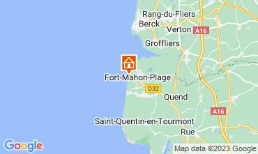Map Fort Mahon Apartment 93061