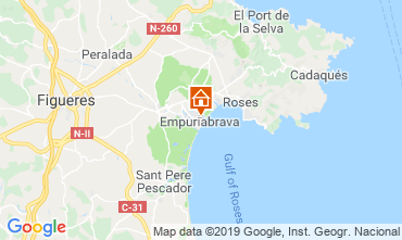 Map Empuriabrava Apartment 118293
