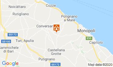 Map Polignano a Mare Apartment 32519