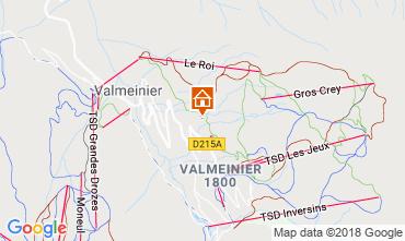 Map Valmeinier Chalet 116649