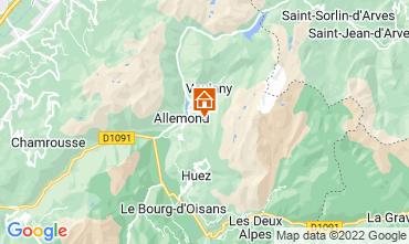 Map Alpe d'Huez Chalet 100938