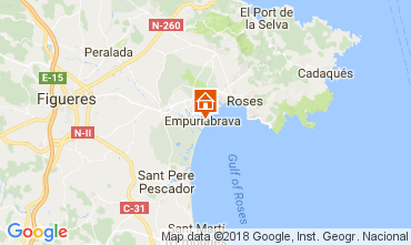Map Empuriabrava Apartment 112753