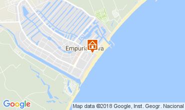 Map Empuriabrava Apartment 112753