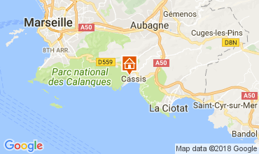 Map Cassis Apartment 112894