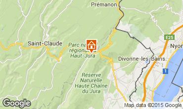 Map Monts Jura Apartment 66236