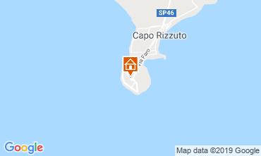 Map Isola di Capo Rizzuto Bungalow 26144