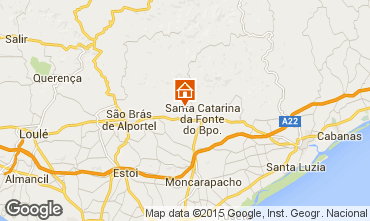 Map Tavira Self-catering property 90561