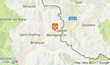 Map Montgenevre Apartment 112524