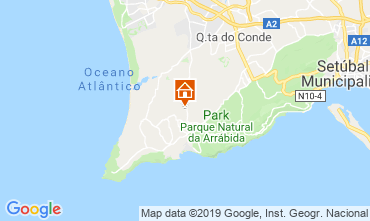 Map Sesimbra Villa 115497