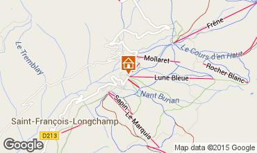 Map Saint François Longchamp Apartment 2518