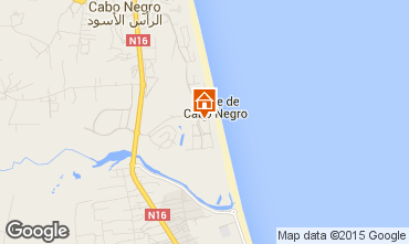 Map Cabo Negro Apartment 78959