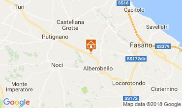 Map Alberobello Villa 113922