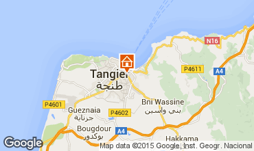 Map Tangier Apartment 24060