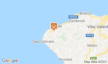Map Tropea Villa 57487