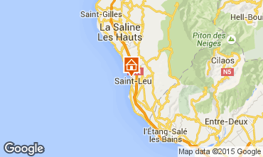 Map Saint Leu Apartment 85760