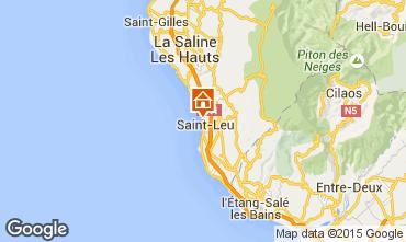 Map Saint Leu Apartment 85760