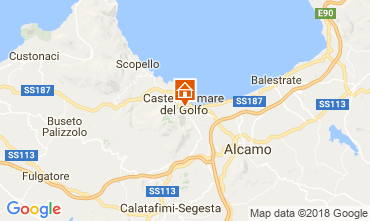 Map Castellammare del Golfo Apartment 114863