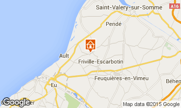 Map Saint Valéry sur Somme Self-catering property 56868