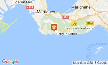 Map Sausset Les Pins Villa 115614