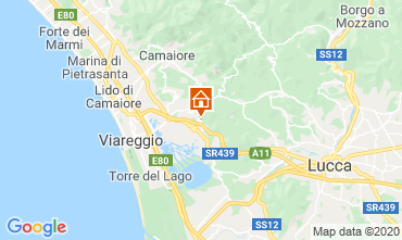 Map Viareggio Self-catering property 98512