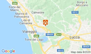 Map Viareggio Self-catering property 98512